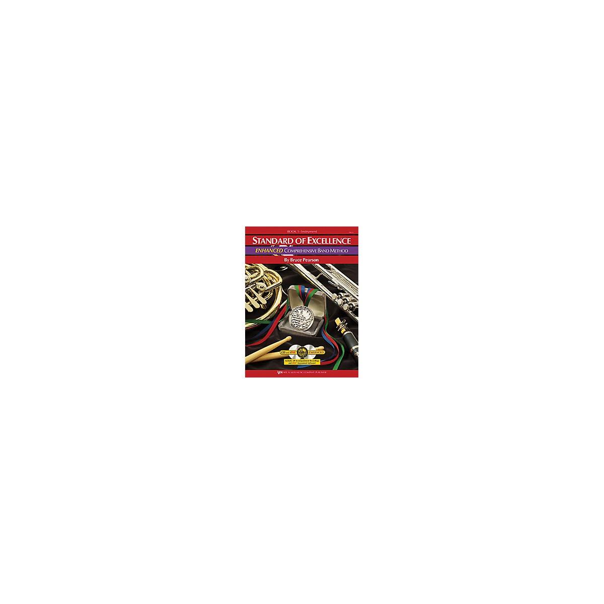 KJOS Standard Of Excellence Book 1 Enhanced Timpani/Aux Perc