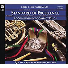 KJOS Standard Of Excellence Book 2 Accompaniment 2-CD Set