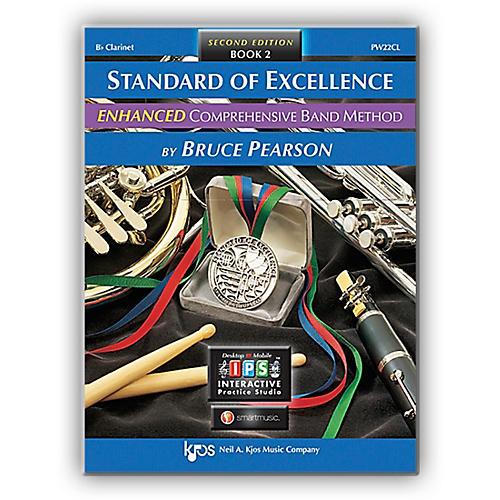 KJOS Standard Of Excellence Book 2 Enhanced Clarinet