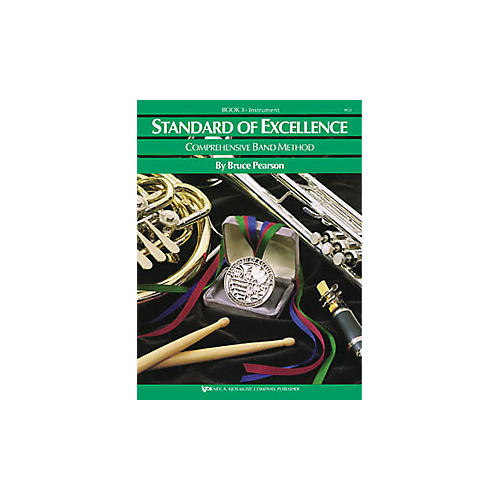 KJOS Standard Of Excellence Book 3 Baritone Bc