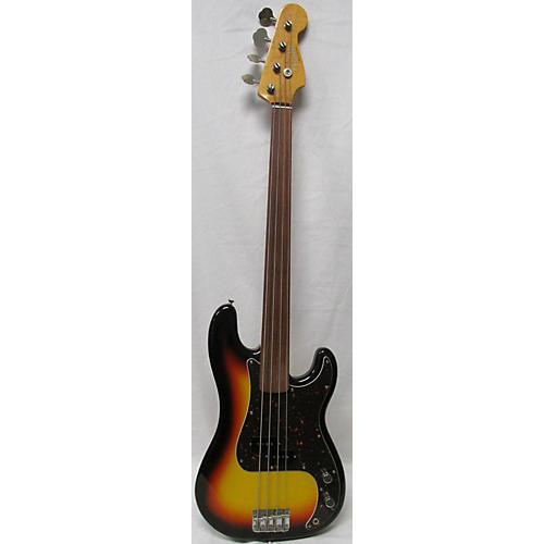 Fender Standard Precision Bass Fretless Electric Bass Guitar