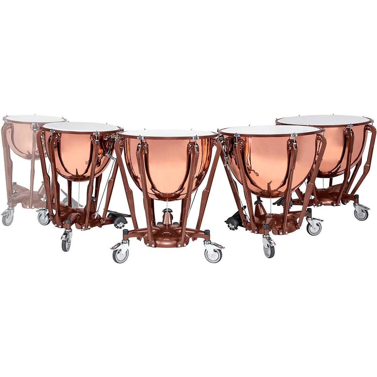 Ludwig Standard Series Polished Copper Timpani Set with Gauge