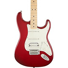 Standard Stratocaster HSS Electric Guitar Candy Apple Red Gloss Maple Fretboard