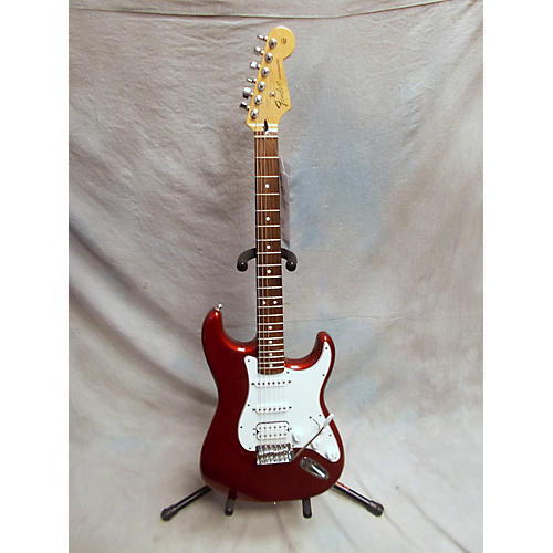Fender Standard Stratocaster HSS Metallic Red Solid Body Electric Guitar