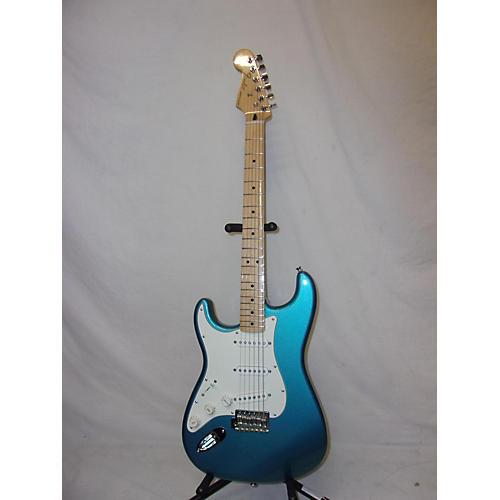 used fender standard stratocaster left handed electric guitar lake placid blue guitar center. Black Bedroom Furniture Sets. Home Design Ideas