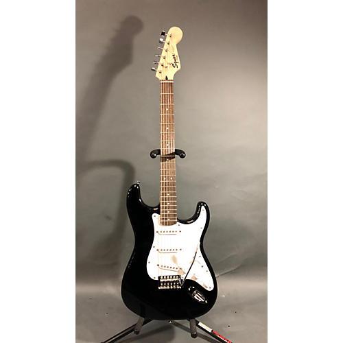 used squier standard stratocaster solid body electric guitar black guitar center. Black Bedroom Furniture Sets. Home Design Ideas