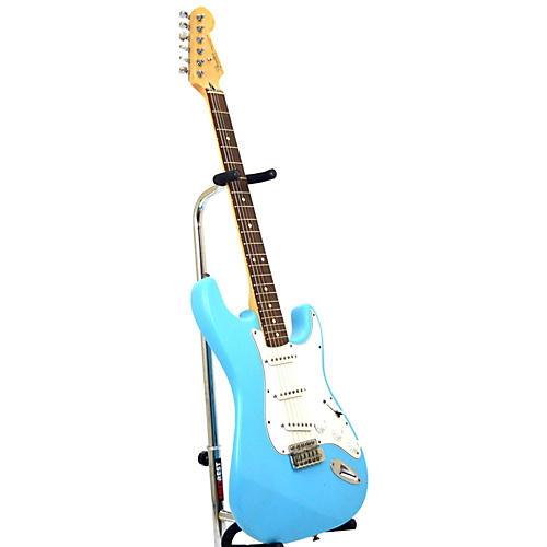 used fender standard stratocaster solid body electric guitar pale blue guitar center. Black Bedroom Furniture Sets. Home Design Ideas