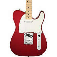 Standard Telecaster Electric Guitar Candy Apple Red Gloss Maple Fretboard