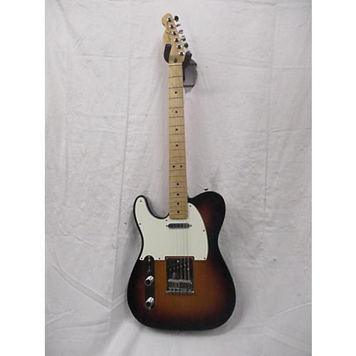 used fender standard telecaster left handed electric guitar sunburst guitar center. Black Bedroom Furniture Sets. Home Design Ideas