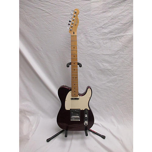 used fender standard telecaster solid body electric guitar wine red guitar center. Black Bedroom Furniture Sets. Home Design Ideas