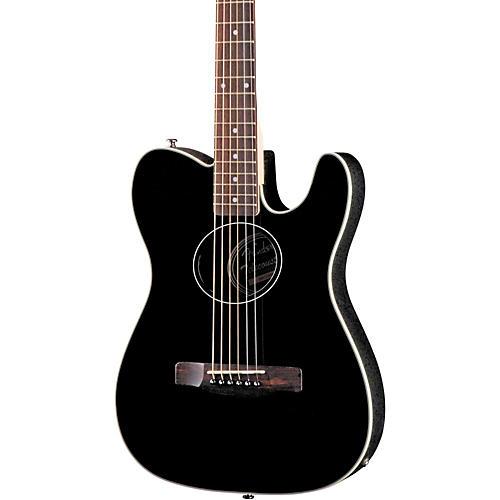 fender standard telecoustic acoustic electric guitar black guitar center. Black Bedroom Furniture Sets. Home Design Ideas