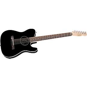 fender standard telecoustic acoustic electric guitar guitar center. Black Bedroom Furniture Sets. Home Design Ideas
