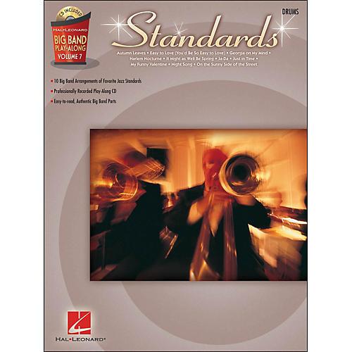 Hal Leonard Standards - Big Band Play-Along Vol. 7 Drums