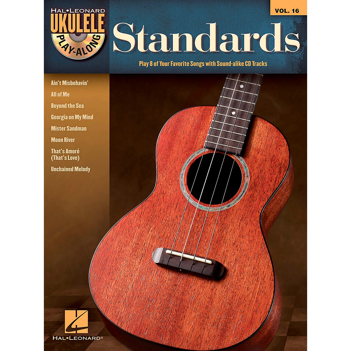 Hal Leonard Standards - Ukulele Play-Along Vol. 16 Book/CD