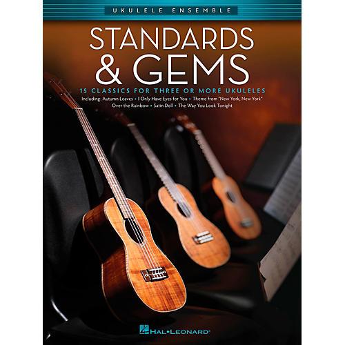 Hal Leonard Standards & Gems - Ukulele Ensemble Series Early Intermediate Songbook