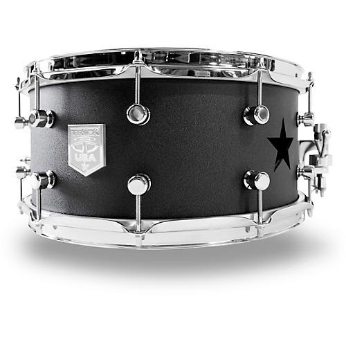 Trick Drums Star Aluminum Snare Drum in Gamblers Gun Gray, 14 x 6.5