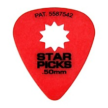 Everly Star Grip Guitar Picks (50 Picks)