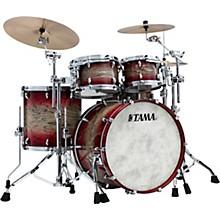 Star Walnut 4-Piece Shell Pack with 22 in. Bass Drum Garnet Japanese Sen Burst