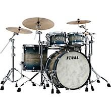 Star Walnut 4-Piece Shell Pack with 22 in. Bass Drum Indigo Japanese Sen Burst