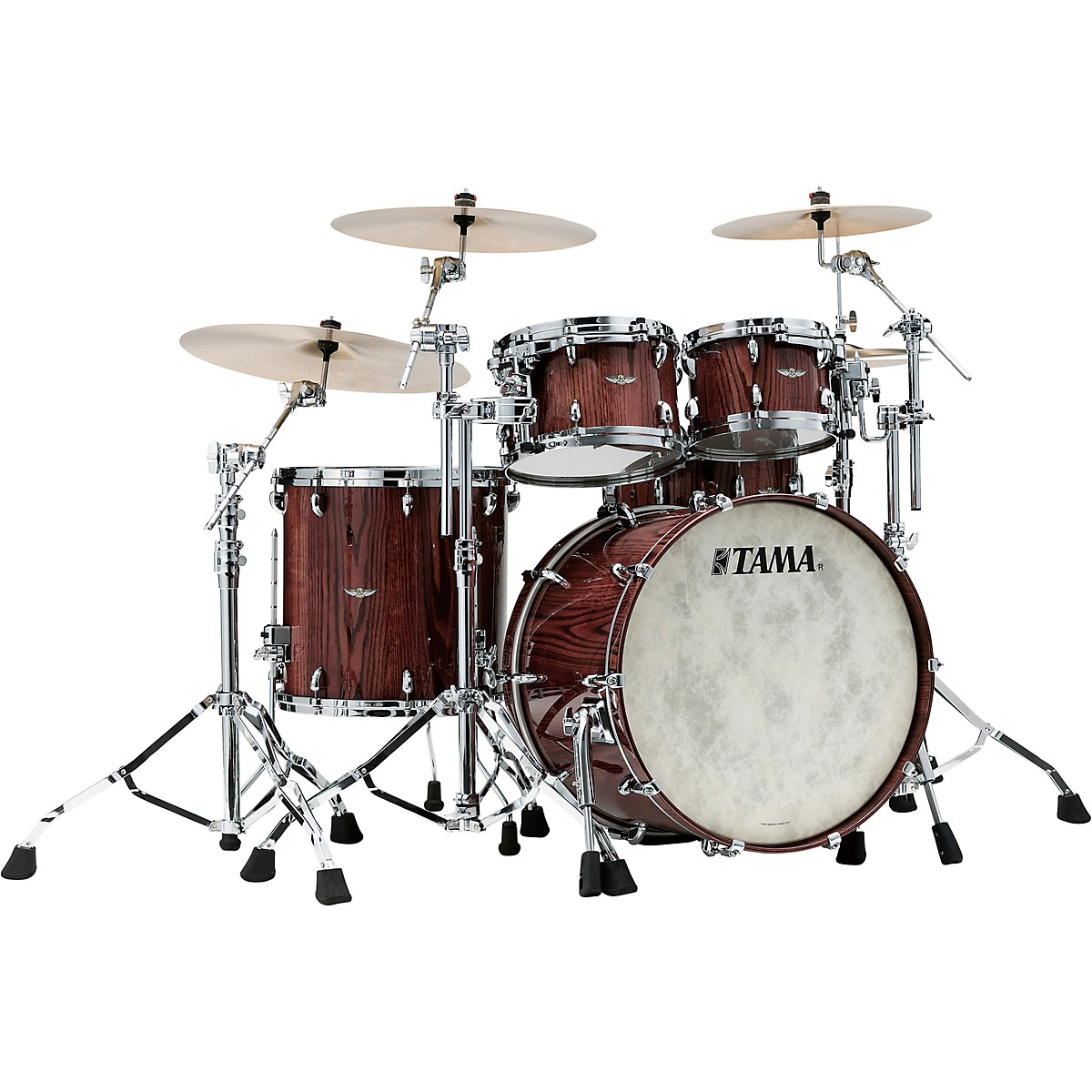 TAMA Star Walnut 4-Piece Shell Pack with 22 in. Bass Drum