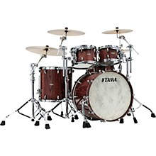 Star Walnut 4-Piece Shell Pack with 22 in. Bass Drum Light Indigo Japanese Chestnut