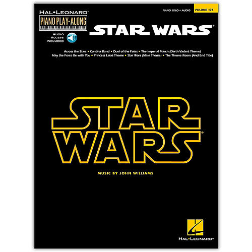 Hal Leonard Star Wars - Piano Play-Along Volume 127 Book/Online Audio