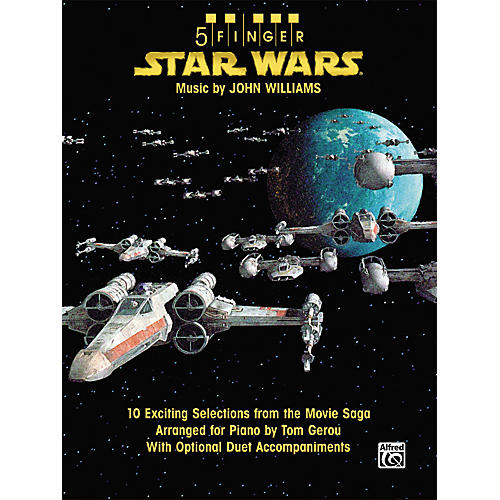 Alfred Star Wars 5 Finger Piano Songbook with Optional Duet Accompaniments