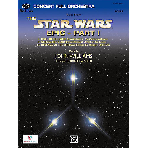 BELWIN Star Wars Epic Part I, Suite from the Grade 4