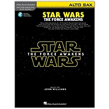 Hal Leonard Star Wars: The Force Awakens - Alto Sax Instrumental Play-Along,  Book with Online Audio