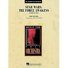 Hal Leonard Star Wars: The Force Awakens Soundtrack Suite Full Orchestra Level 3