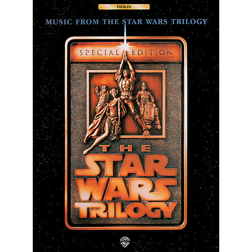 Alfred Star Wars Trilogy for Violin Book