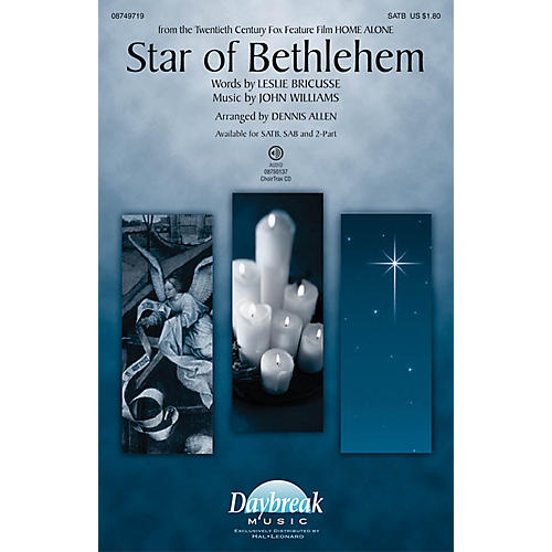 Daybreak Music Star of Bethlehem CHOIRTRAX CD Arranged by Dennis Allen