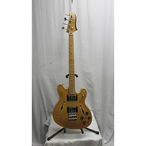 used fender starcaster electric bass electric bass guitar natural guitar center. Black Bedroom Furniture Sets. Home Design Ideas