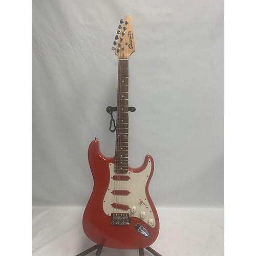 used fender starcaster hollow body electric guitar red guitar center. Black Bedroom Furniture Sets. Home Design Ideas