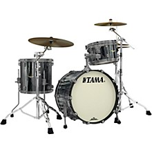 Starclassic Maple 3-Piece Shell Pack with Smoked Black Nickel Hardware and 20 in. Bass Drum Black Clouds and Silver Linings