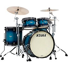Starclassic Maple 4-Piece Shell Pack with Black Nickel Hardware and 22 in. Bass Drum Molten Electric Blue Burst