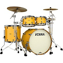 Starclassic Maple 4-Piece Shell Pack with Black Nickel Hardware and 22 in. Bass Drum Satin Aztec Gold Metallic