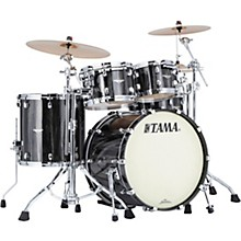 Starclassic Maple 4-Piece Shell Pack with Chrome Hardware and 22 in. Bass Drum Black Clouds and Silver Linings