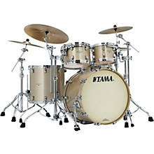 Starclassic Maple 4-Piece Shell Pack with Chrome Hardware and 22 in. Bass Drum Champagne Sparkle