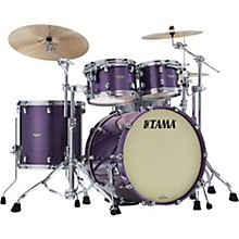 Starclassic Maple 4-Piece Shell Pack with Chrome Hardware and 22 in. Bass Drum Deeper Purple