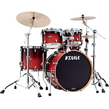 Starclassic Performer 4-Piece Shell Pack With 22 in. Bass Drum Dark Cherry Fade