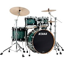 Starclassic Performer 4-Piece Shell Pack With 22 in. Bass Drum Molten Steel Blue Burst