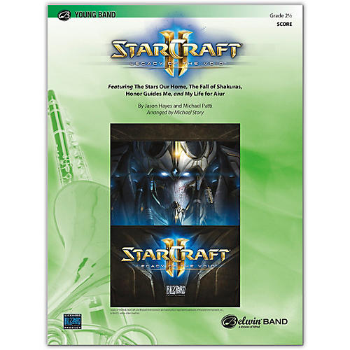 BELWIN Starcraft II: Legacy of the Void Conductor Score 2.5 (Easy to Medium Easy)