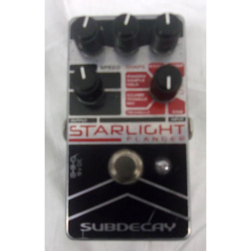 Subdecay Starlight Flanger Effect Pedal