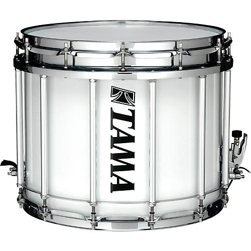 b72a61fe5cb0 Tama Marching Starlight Marching Snare Drum 14 x 12 in. Sugar White ...