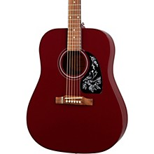 Starling Acoustic Guitar Wine Red