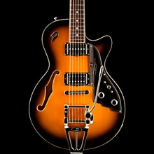 Duesenberg Starplayer TV with Tremolo Semi-Hollow Electric Guitar 2-Color Sunburst