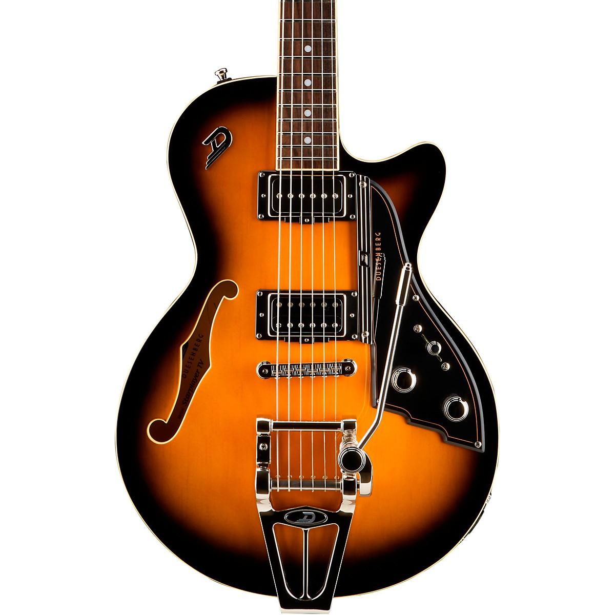 Duesenberg USA Starplayer TV with Tremolo Semi-Hollow Electric Guitar