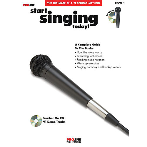 Proline Start Singing Today Book/CD