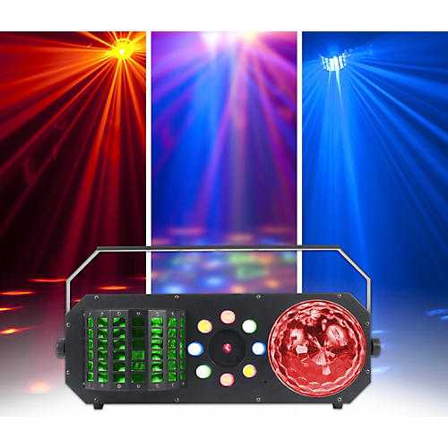 American DJ Startec Boom Box FX1 4-in-1 LED and Laser Lighting Effect